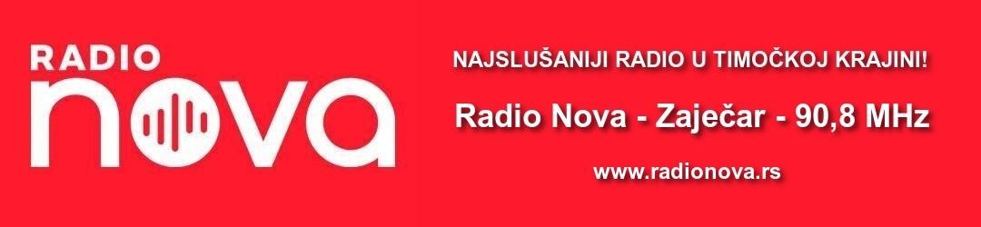 Radio Nova - Zaječar (90,8 MHz)